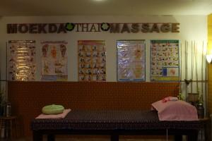 massage tafel aan de zijkant Moekda Thaise Massage Maasbracht