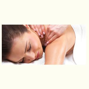 hoofd nek en schouders massage